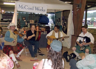 acoustic set at HHG 2009